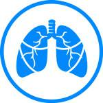 Icons Pleural Methelioma Blue