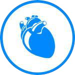 Icons Pericardial Mesothelioma Blue